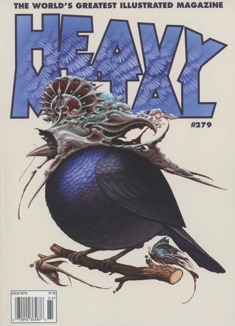 Heavy Metal #279 Cover A Regular Mike Mitchell & Aaron Horkey Cover
