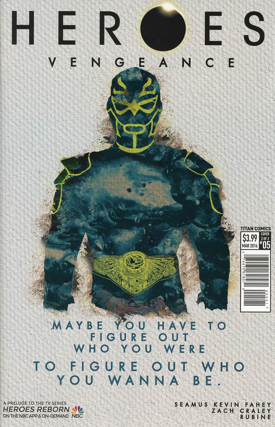 Heroes Vengeance #5 Cover B Variant Rubine Subscription Cover