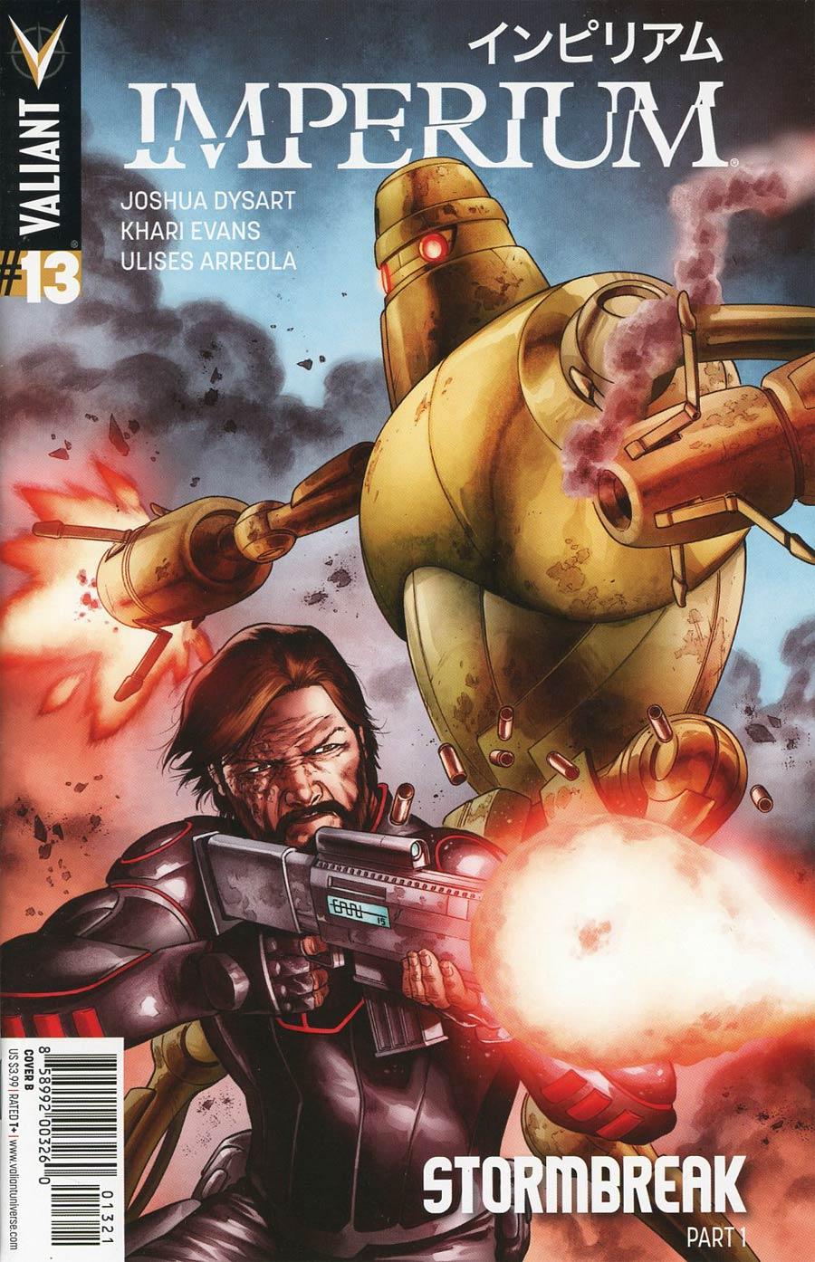 Imperium #13 Cover B Variant CAFU Cover