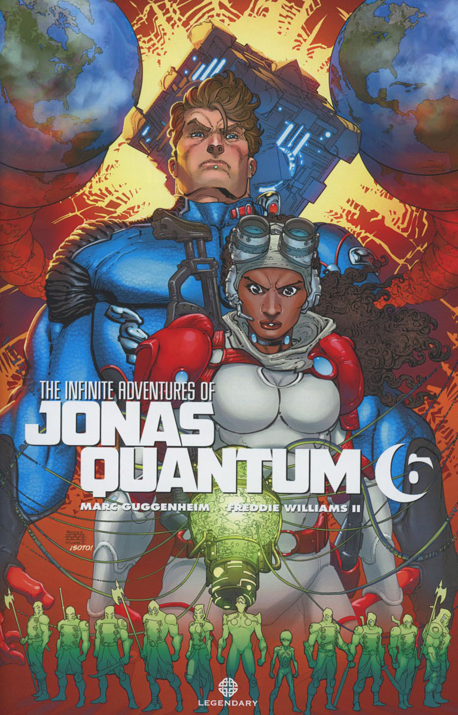 Infinite Adventures Of Jonas Quantum #6