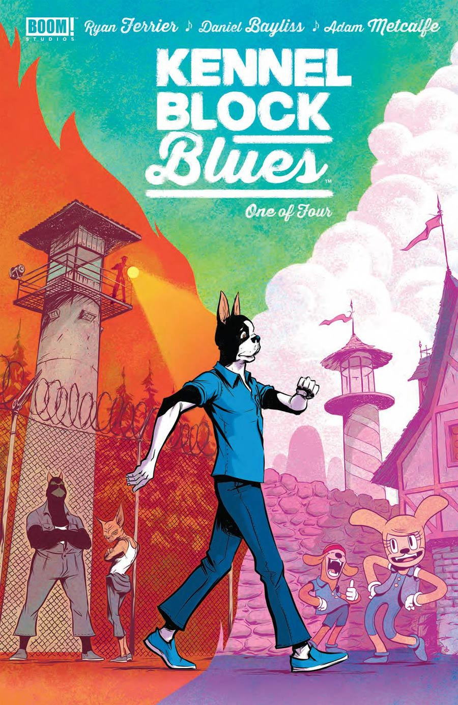 Kennel Block Blues #1 Cover A 1st Ptg Regular Daniel Bayliss Cover