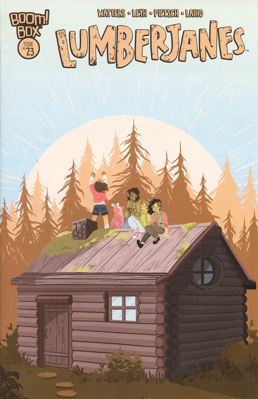 Lumberjanes #23 Cover A Regular Rosemary Valero-OConnell Cover