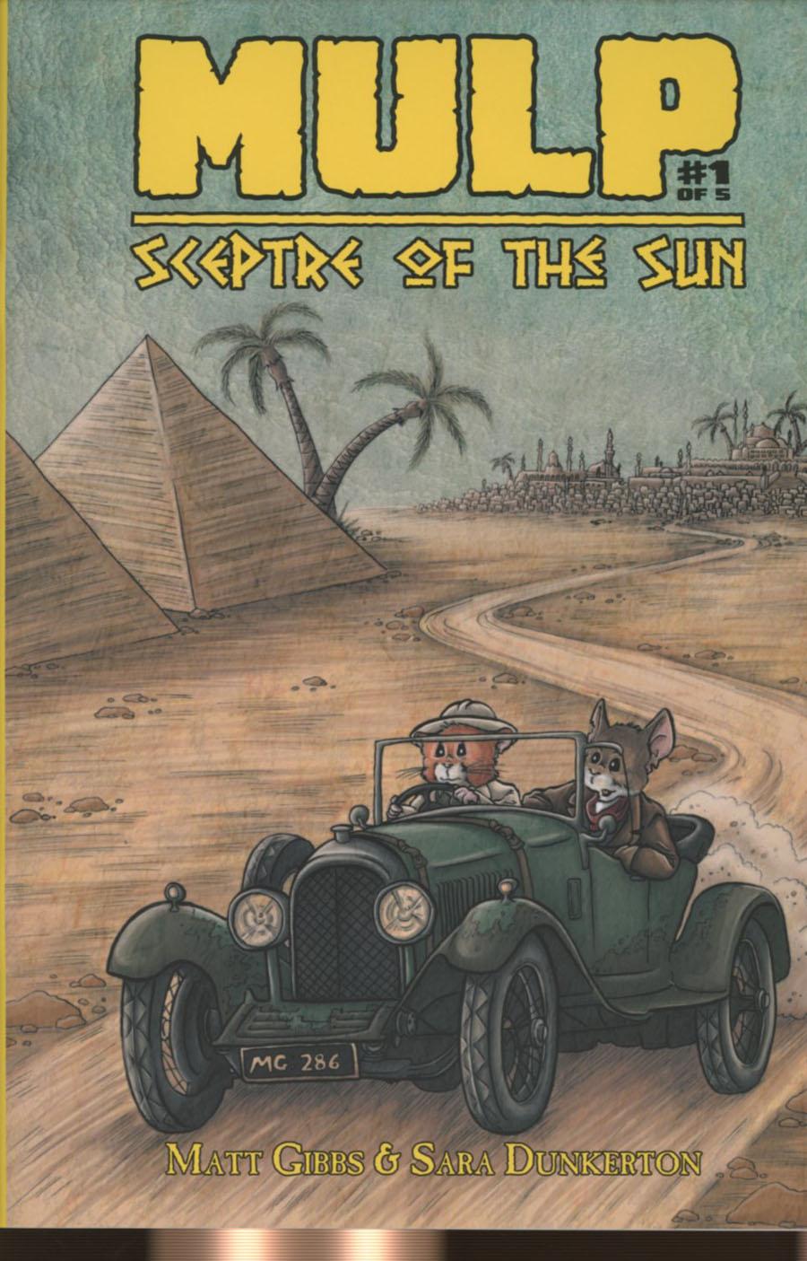Mulp Sceptre Of The Sun #1