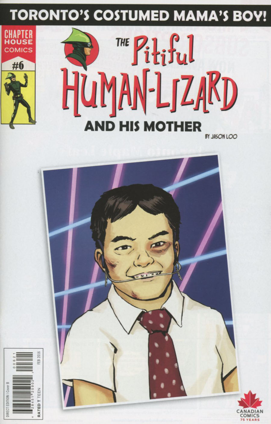 Pitiful Human-Lizard #6 Cover B Variant Jason Loo Cover