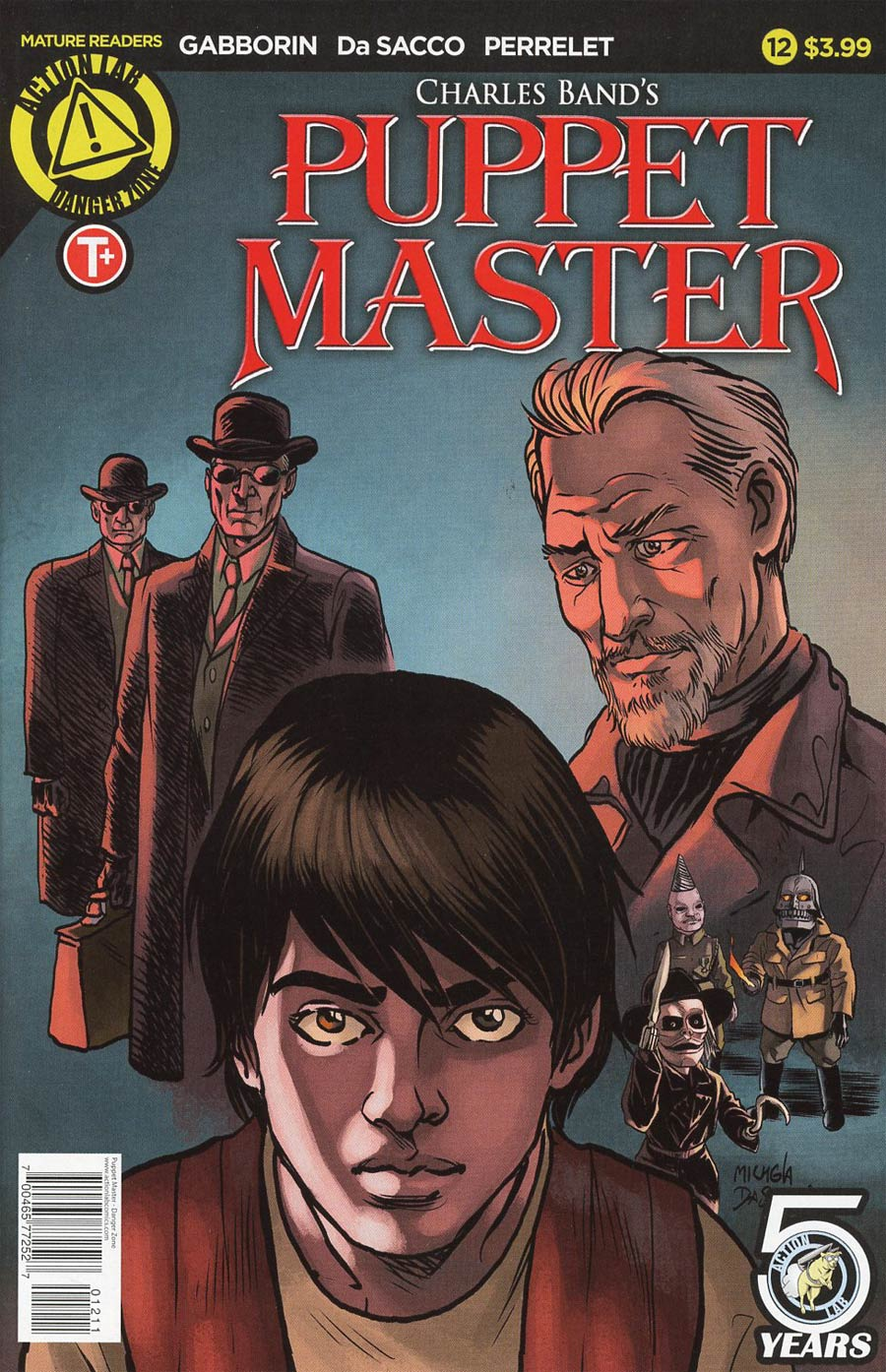 Puppet Master #12 Cover A Regular Michela Da Sacco Cover