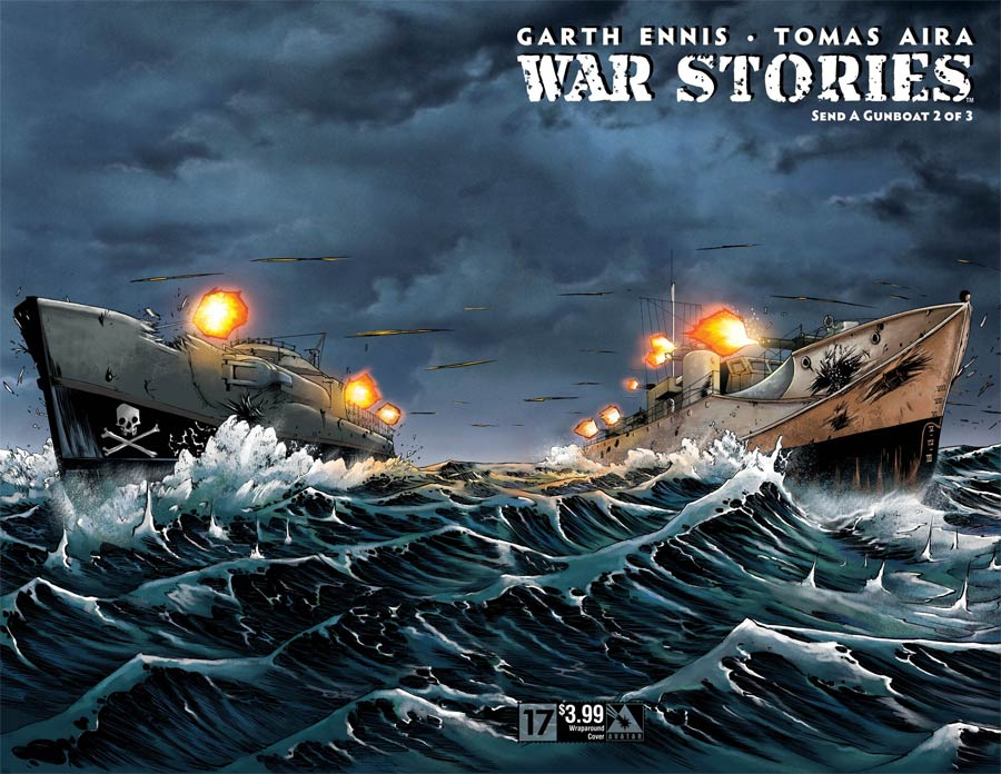 War Stories #17 Cover B Wraparound Cover