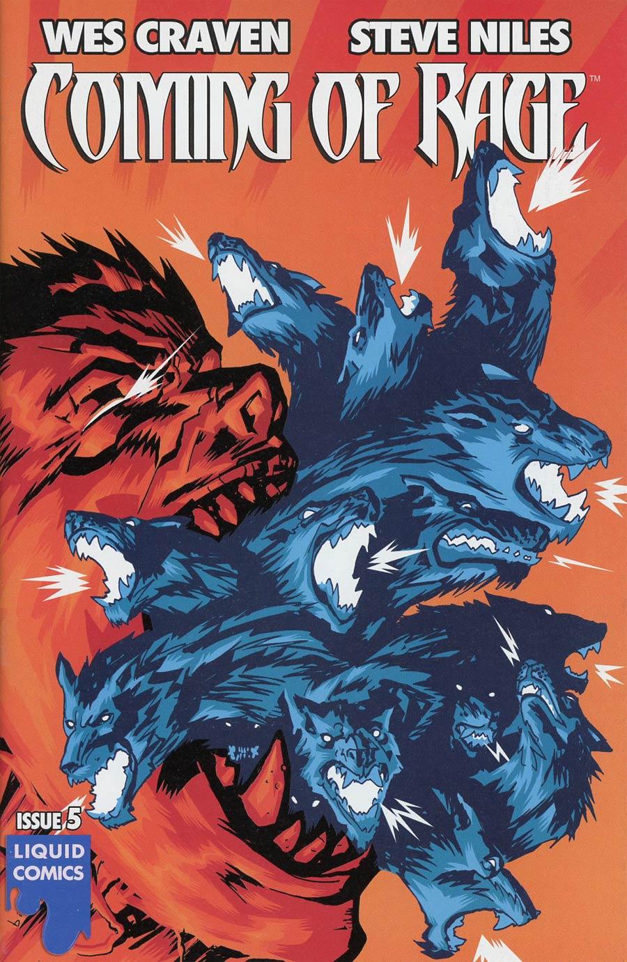 Wes Cravens Coming Of Rage #5 Cover A Regular Francesco Biagini Cover