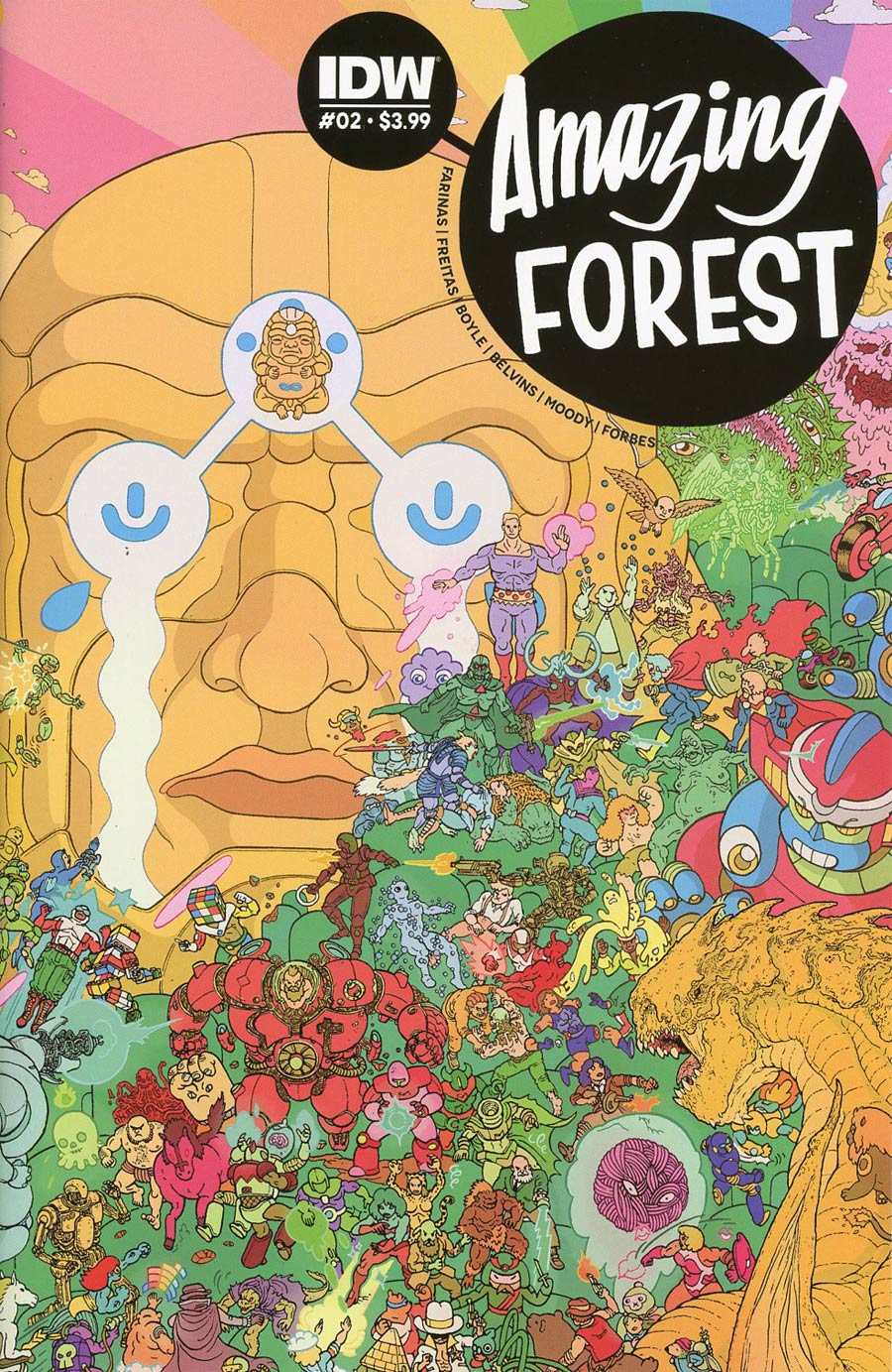 Amazing Forest #2 Cover A Regular Ulises Farinas Cover