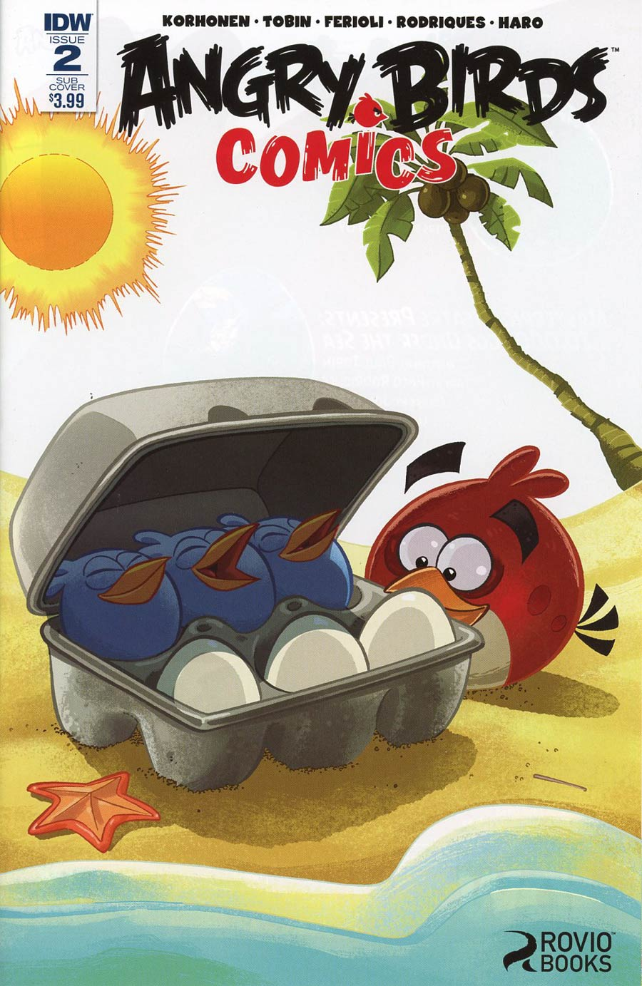 Angry Birds Comics Vol 2 #2 Cover B Variant Paco Rodriques Subscription Cover