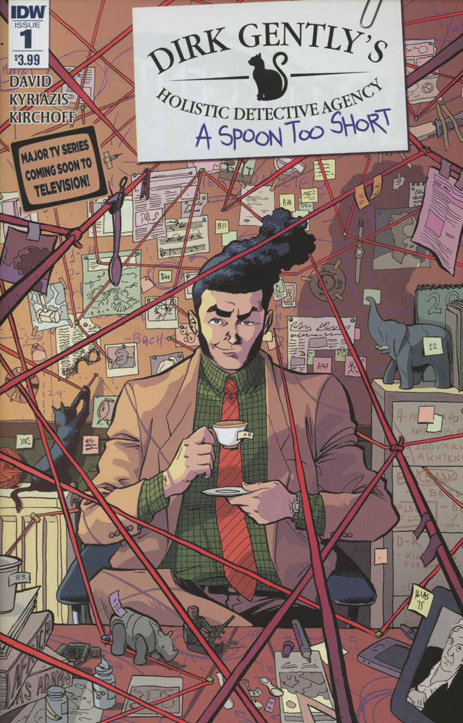 Dirk Gentlys Holistic Detective Agency A Spoon Too Short #1 Cover A Regular Ilias Kyriazis Cover