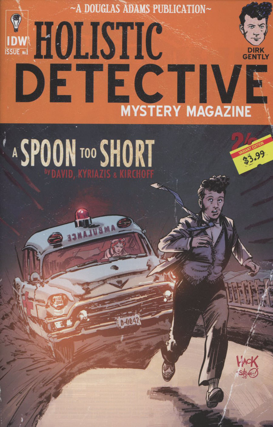 Dirk Gentlys Holistic Detective Agency A Spoon Too Short #1 Cover B Variant Robert Hack Subscription Cover