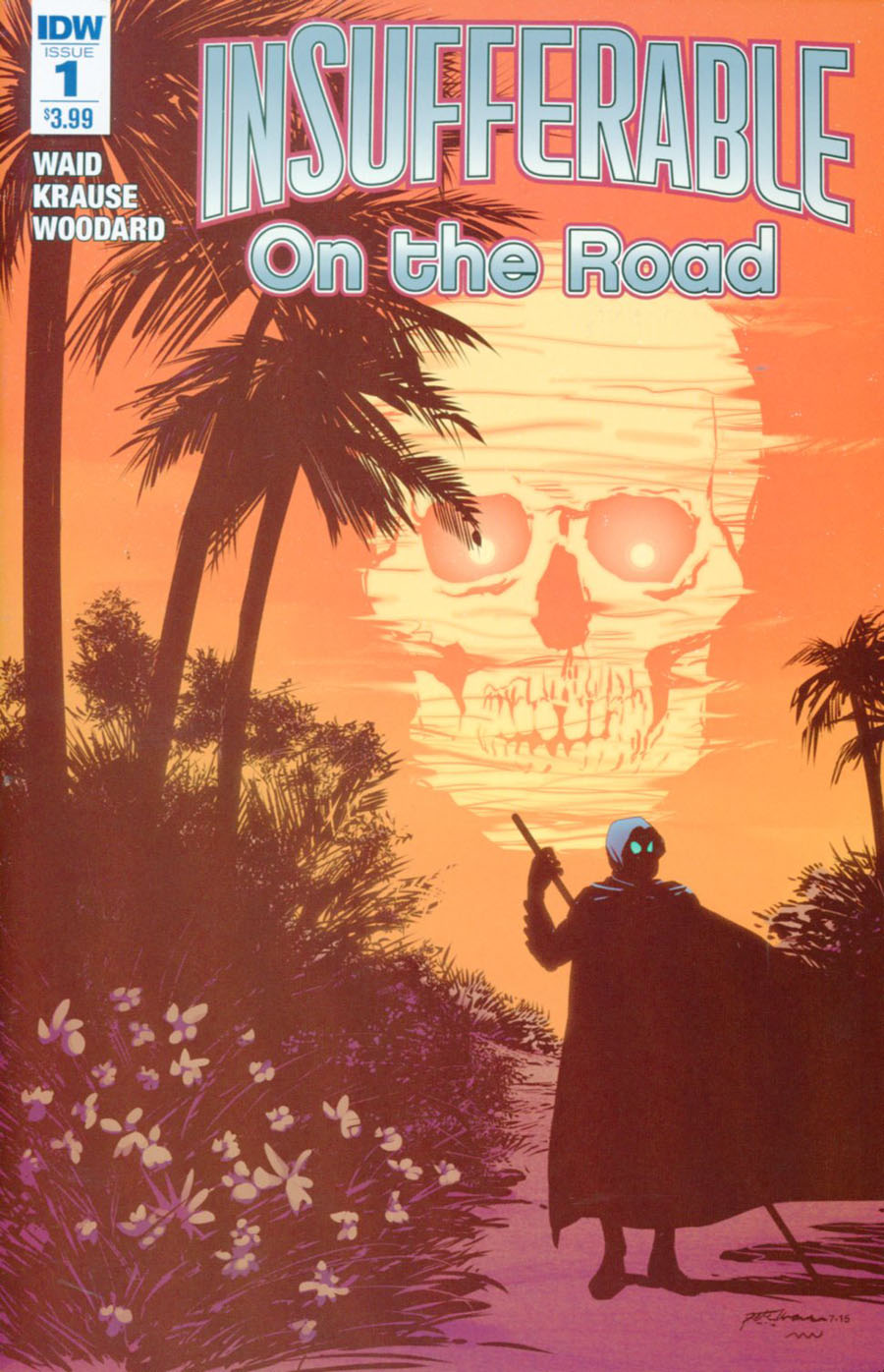 Insufferable On The Road #1 Cover A Regular Peter Krause Cover