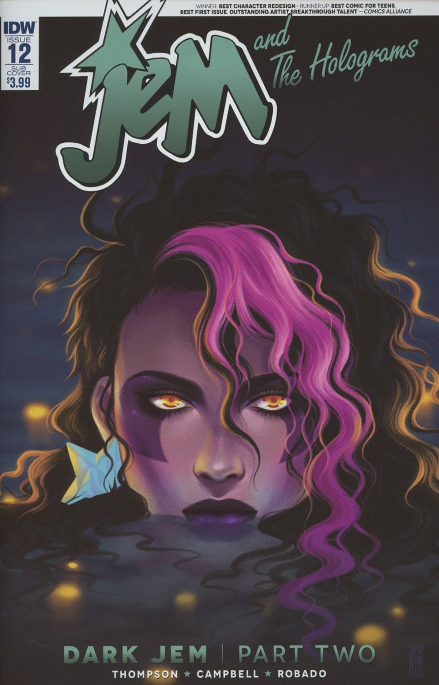 Jem And The Holograms #12 Cover B Variant Jen Bartel Subscription Cover