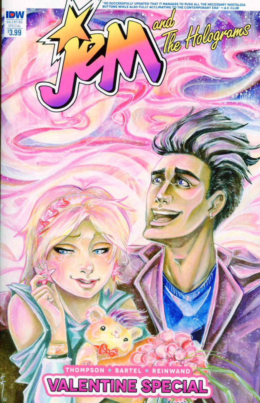 Jem And The Holograms Valentines Day Special 2016 Cover A Regular Sara Richard Cover