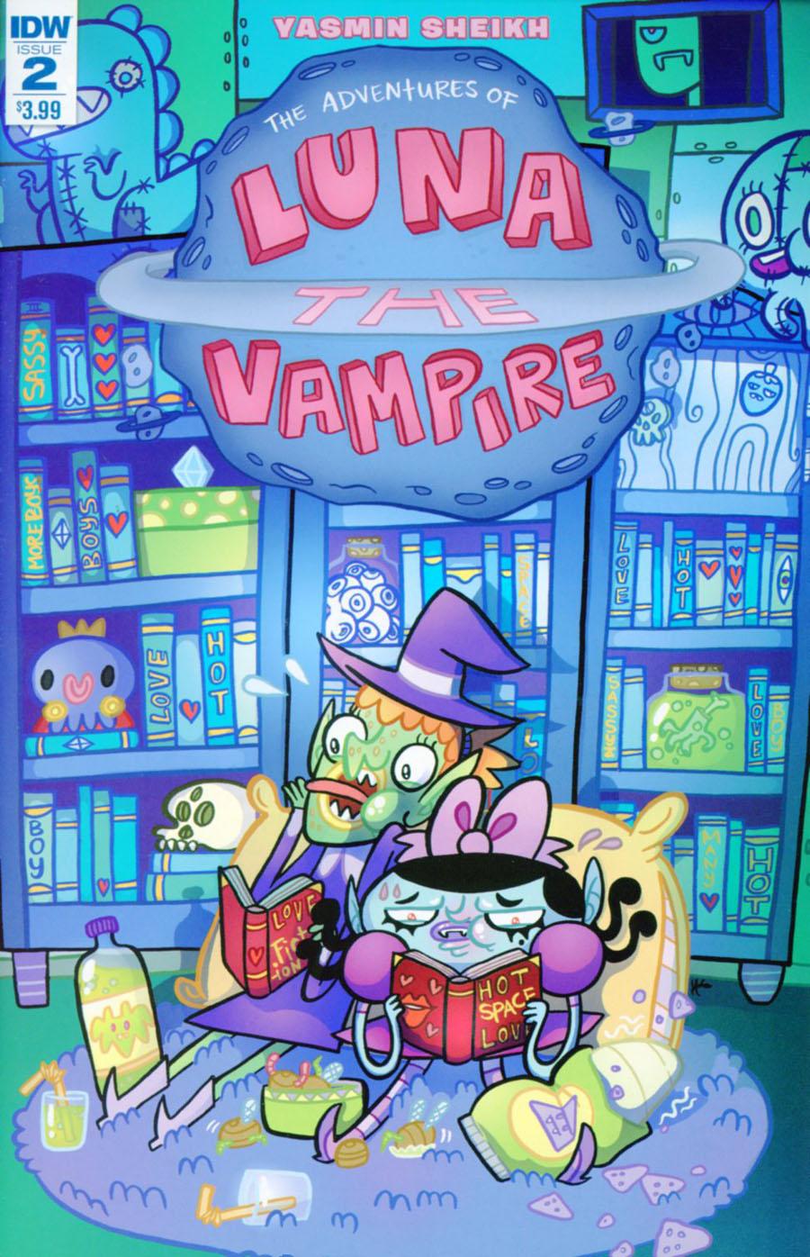 Luna The Vampire #2 Cover A Regular Yasmin Sheikh Cover