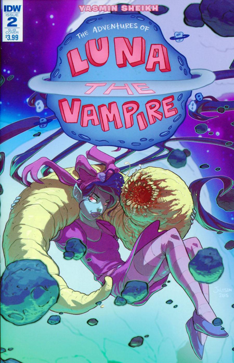 Luna The Vampire #2 Cover B Variant Tom Jilesen Subscription Cover