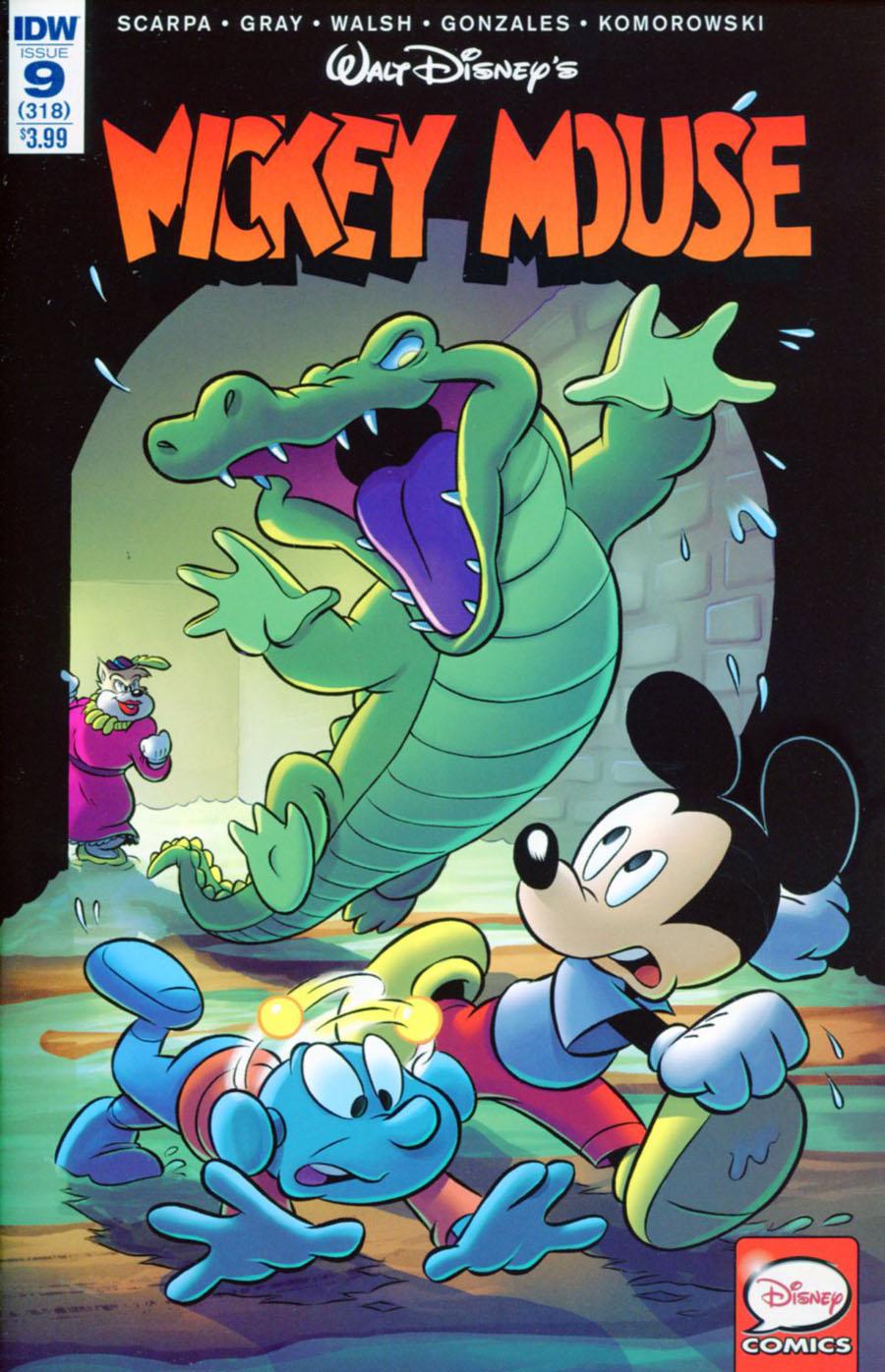 Mickey Mouse Vol 2 #9 Cover A Regular Henrieke Goorhuis Cover