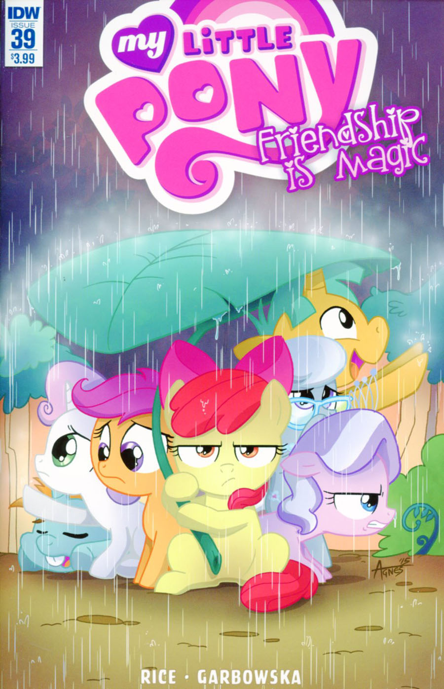 My Little Pony Friendship Is Magic #39 Cover A Regular Agnes Garbowska Cover