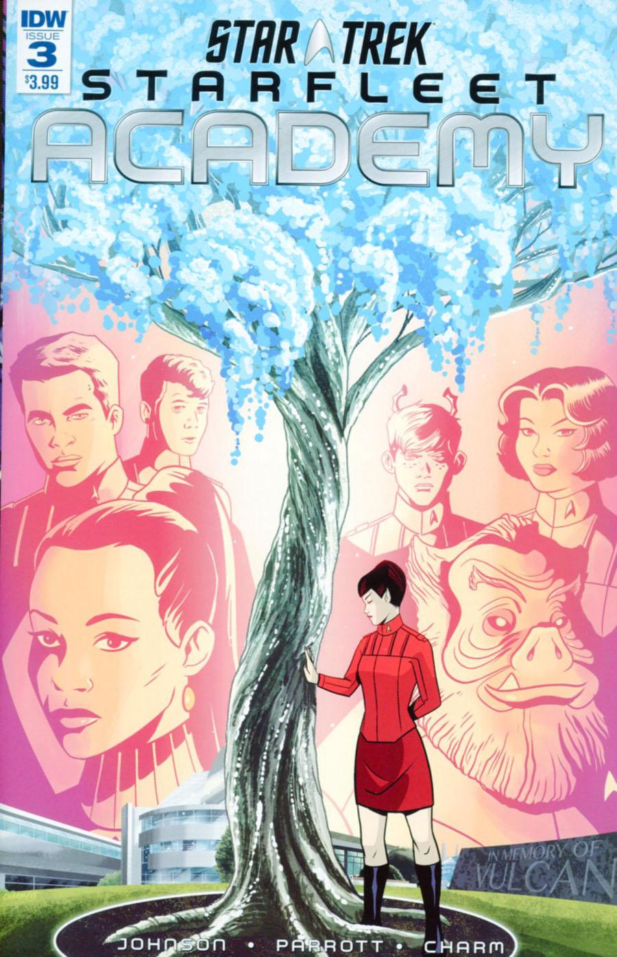 Star Trek Starfleet Academy (IDW) #3 Cover A Regular Derek Charm Cover
