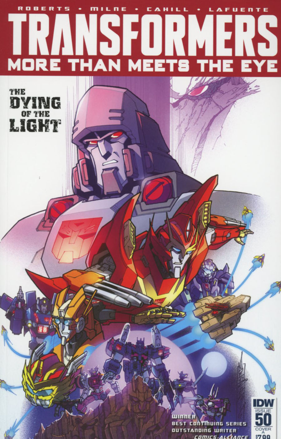 Transformers More Than Meets The Eye #50 Cover A Regular Alex Milne Cover