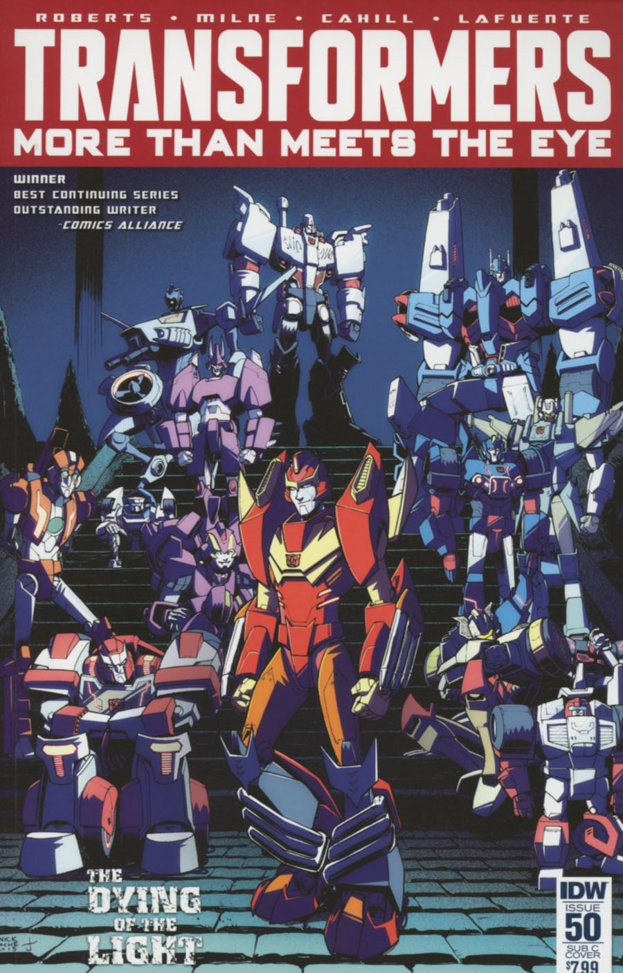 Transformers More Than Meets The Eye #50 Cover D Variant Nick Roche Subscription Cover