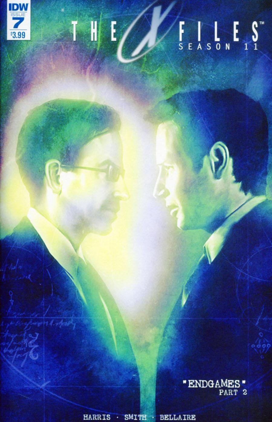 X-Files Season 11 #7 Cover A Regular Menton3 Cover
