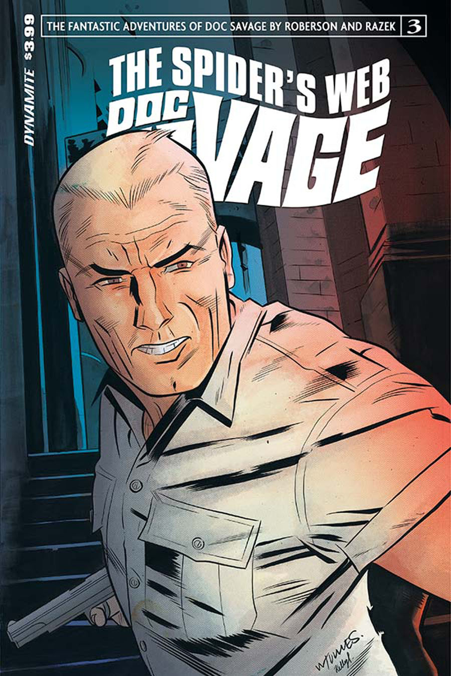 Doc Savage Spiders Web #3 Cover A Regular Wilfredo Torres Cover