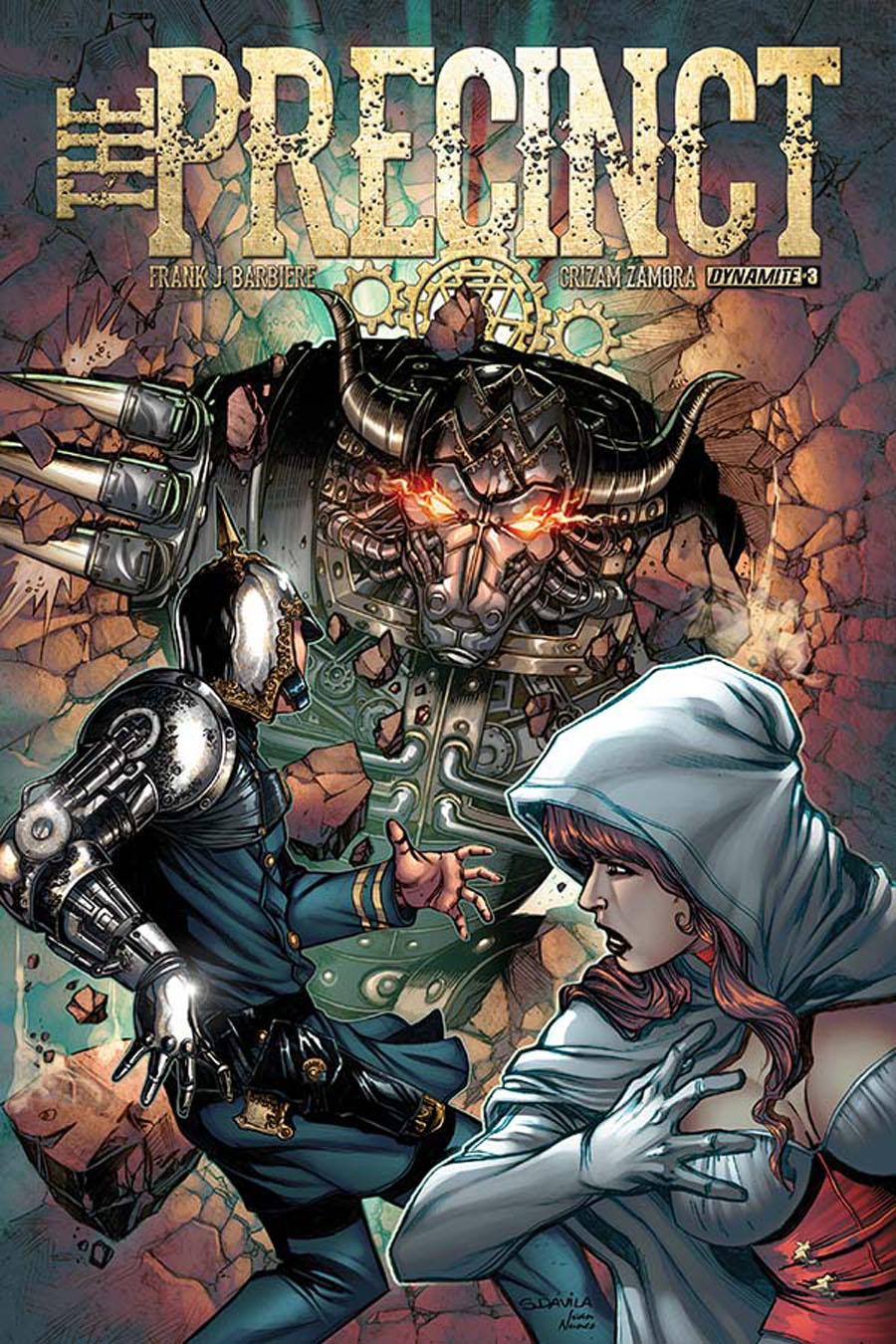 Precinct #3 Cover A Regular Sergio Fernandez Davila Cover