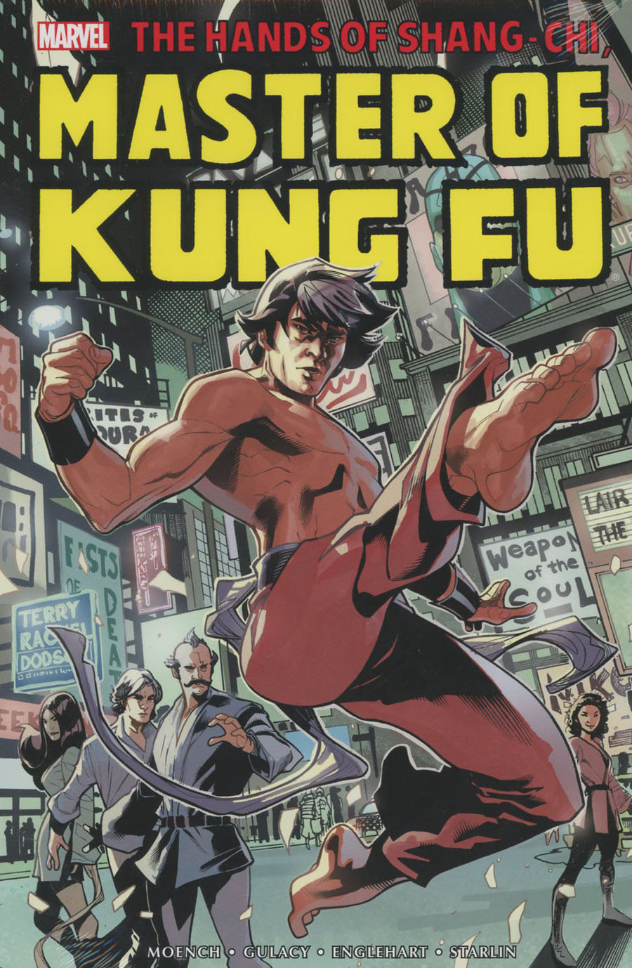 Shang-Chi Master Of Kung Fu Omnibus Vol 1 HC Book Market Terry Dodson Cover