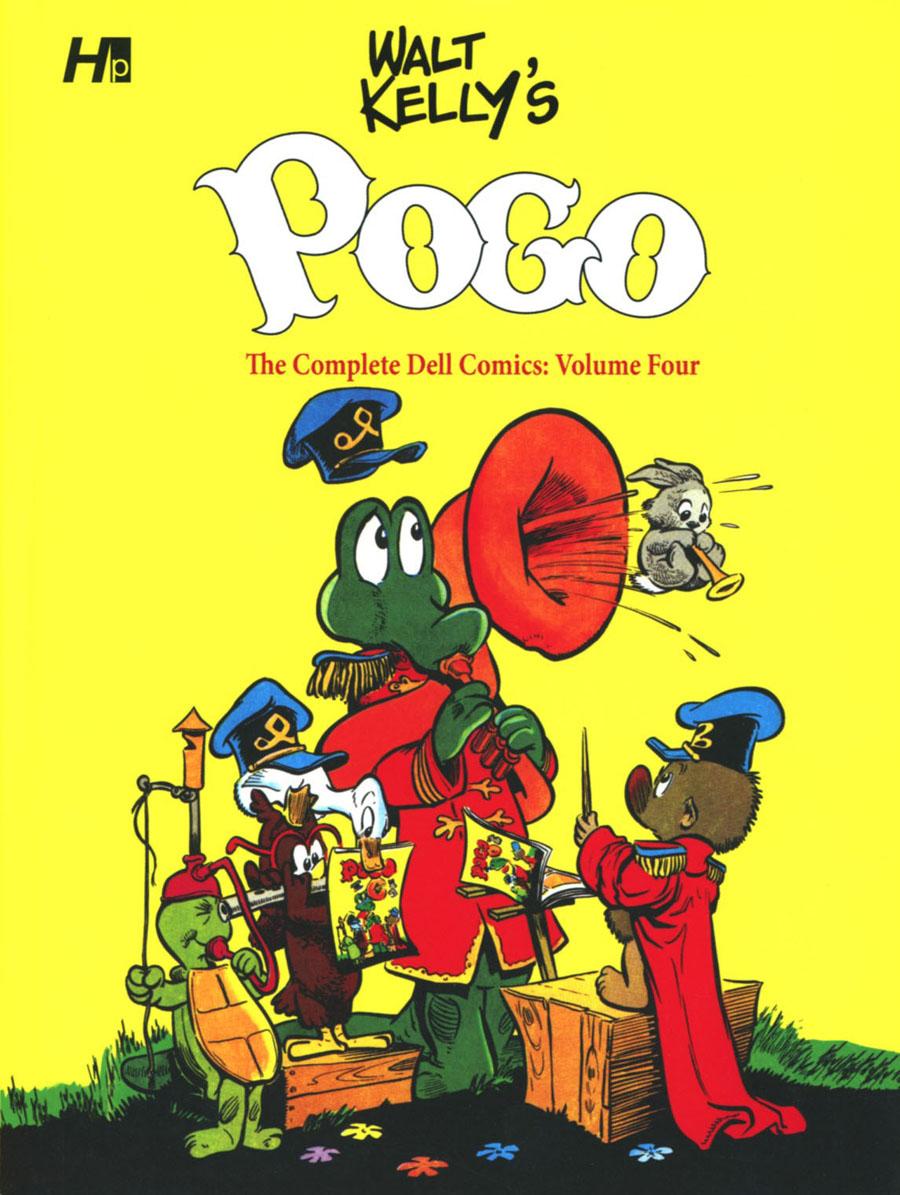 Walt Kellys Pogo Complete Dell Comics Vol 4 HC