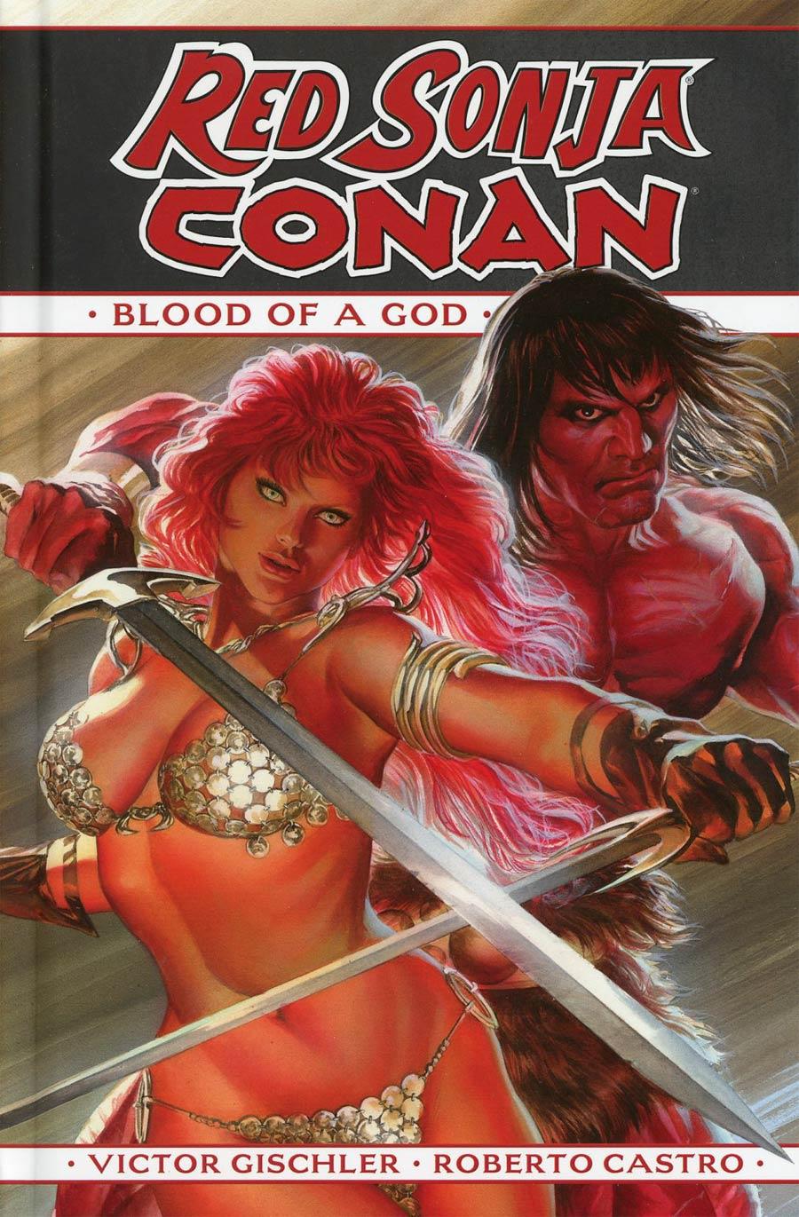 Red Sonja Conan Blood Of A God HC