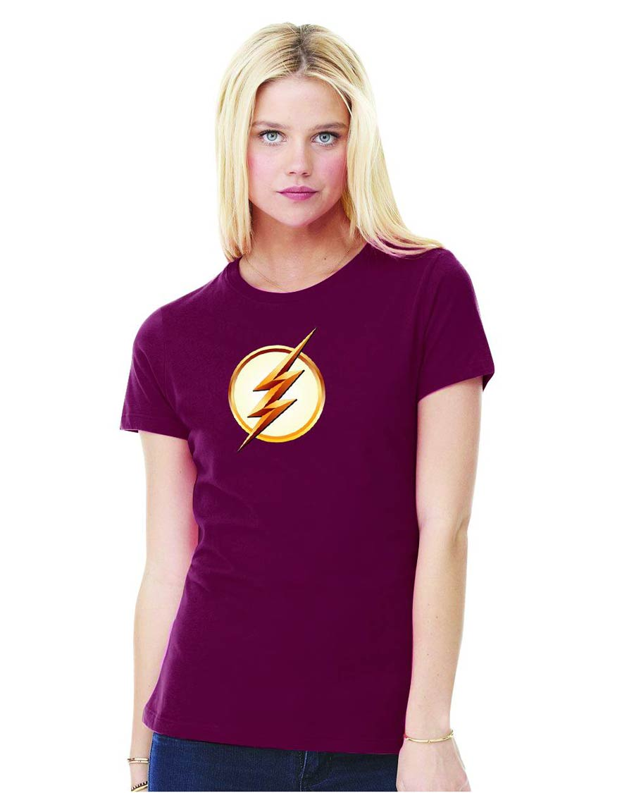 Flash TV Symbol Season 2 Womens T-Shirt Large