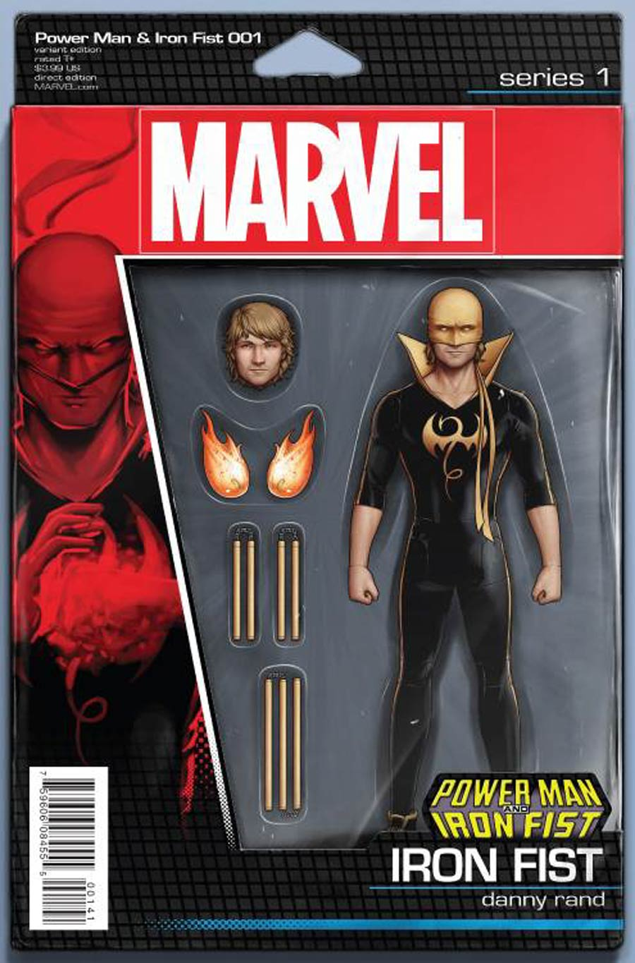 Power Man And Iron Fist Vol 3 #1 Cover D Variant John Tyler Christopher Iron Fist Action Figure Cover