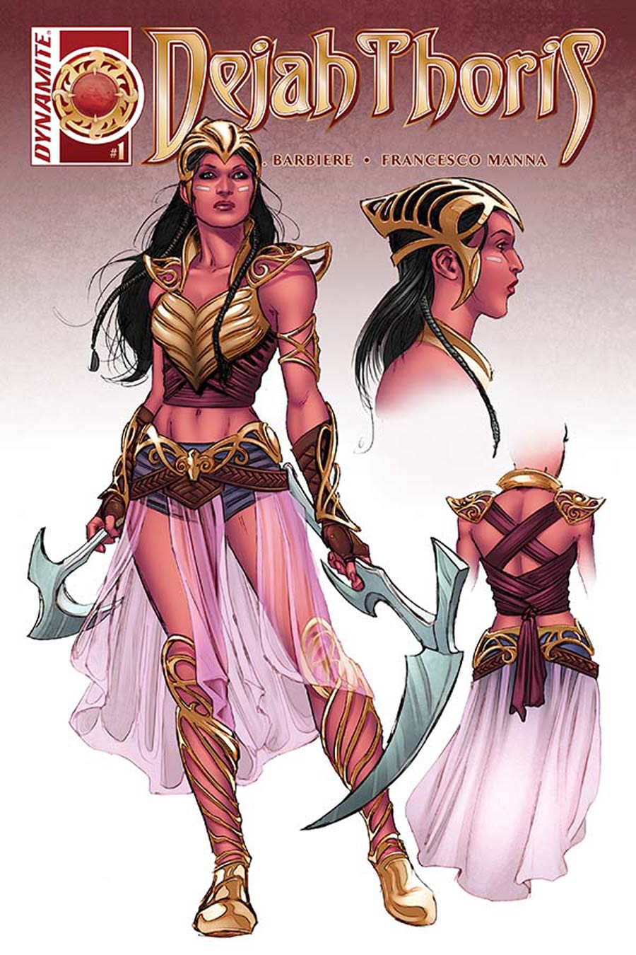 Dejah Thoris #1 Cover J Incentive Nicola Scott Variant Cover