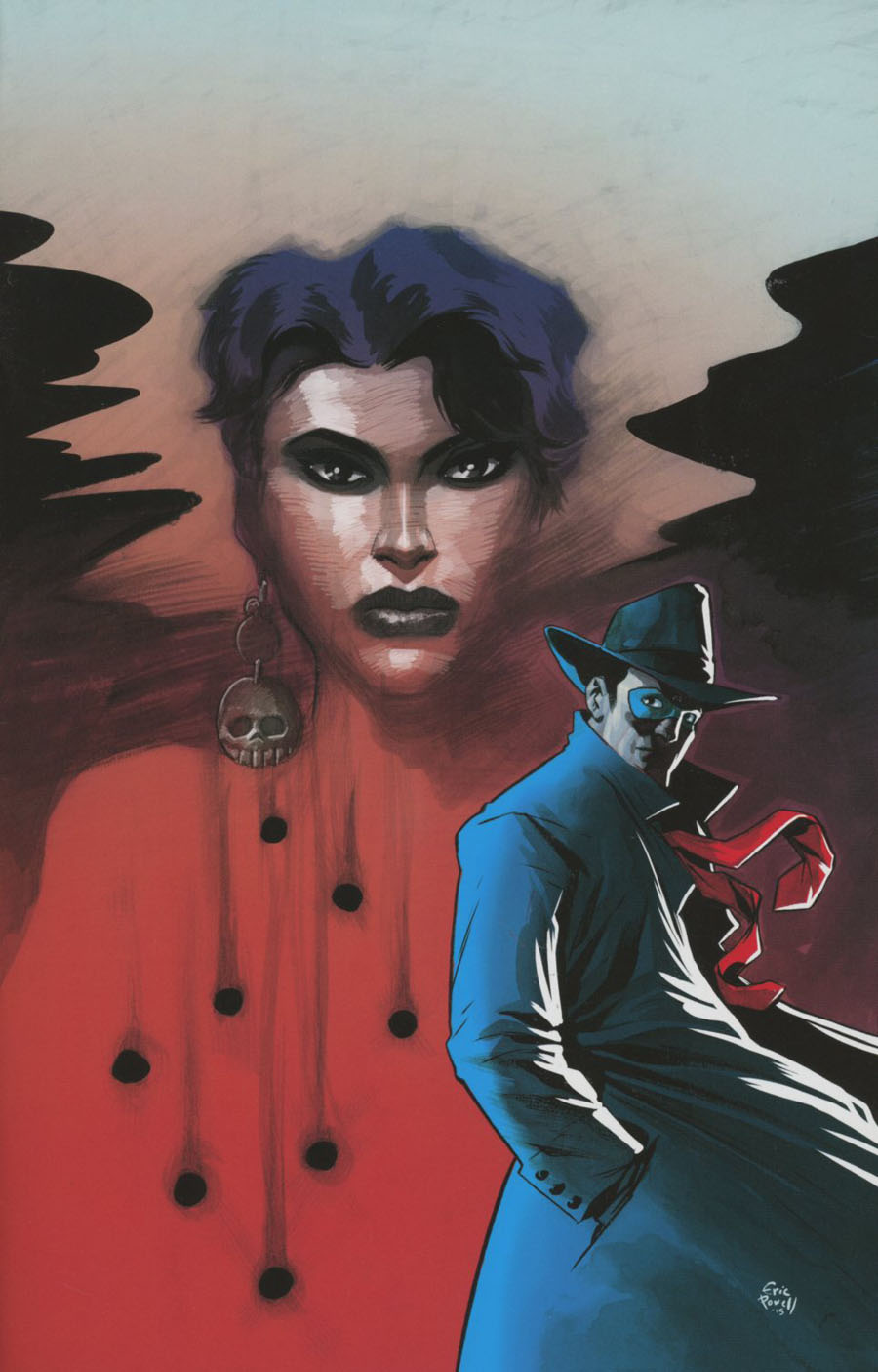 Will Eisners Spirit #8 Cover B Incentive Eric Powell Virgin Cover
