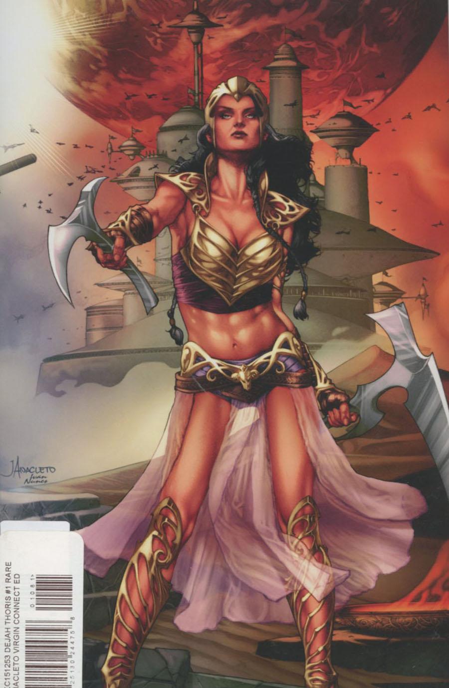 Dejah Thoris #1 Cover K Rare Jay Anacleto Virgin Connecting Cover