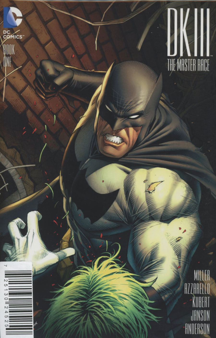 Dark Knight III The Master Race #1 Cover Z-P DF AOD Collectables Exclusive Dale Keown Variant Cover