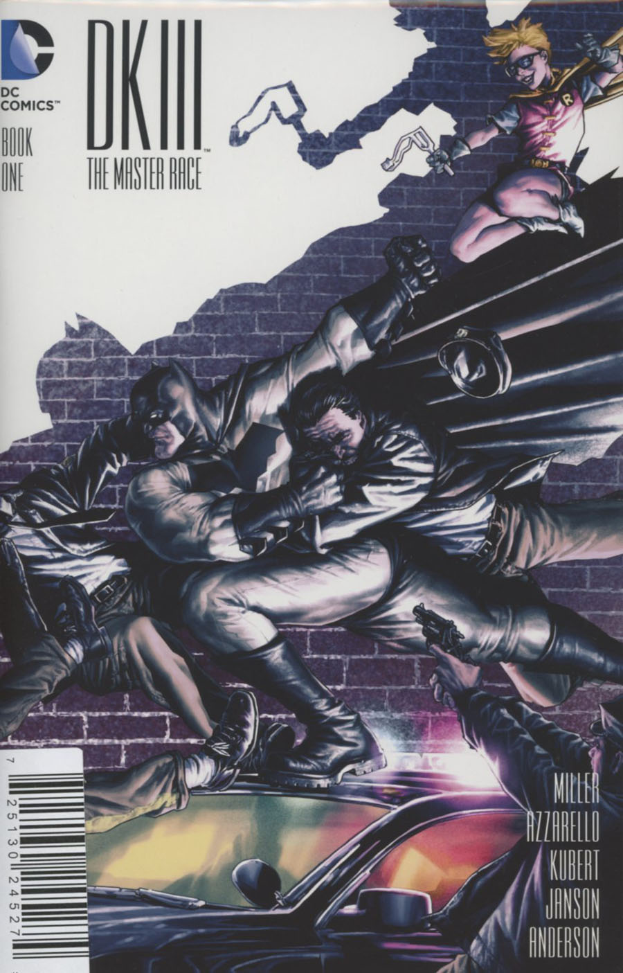 Dark Knight III The Master Race #1 Cover Z-R DF In Stock Trades Exclusive Lee Bermejo Variant Cover