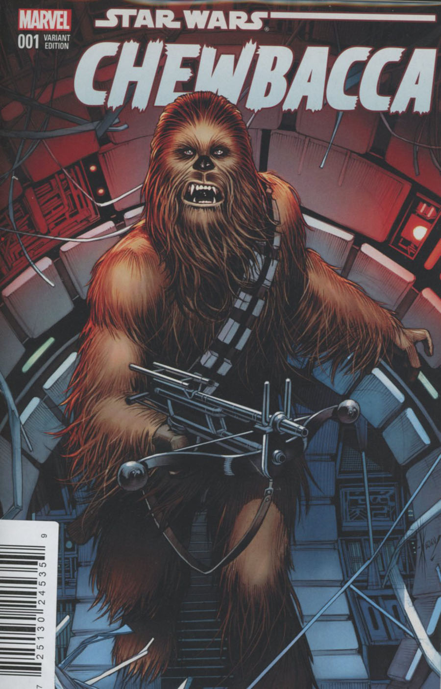 Chewbacca #1 Cover J DF AOD Collectables Exclusive Dale Keown Variant Cover