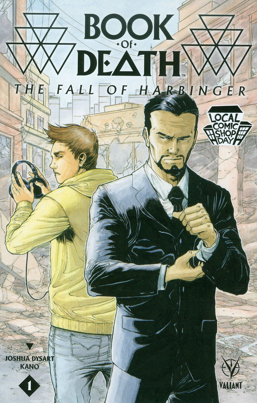 LCSD 2015 Book Of Death Fall Of Harbinger #1