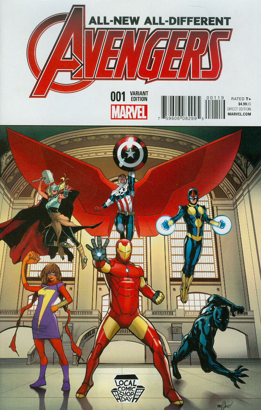 LCSD 2015 All-New All-Different Avengers #1