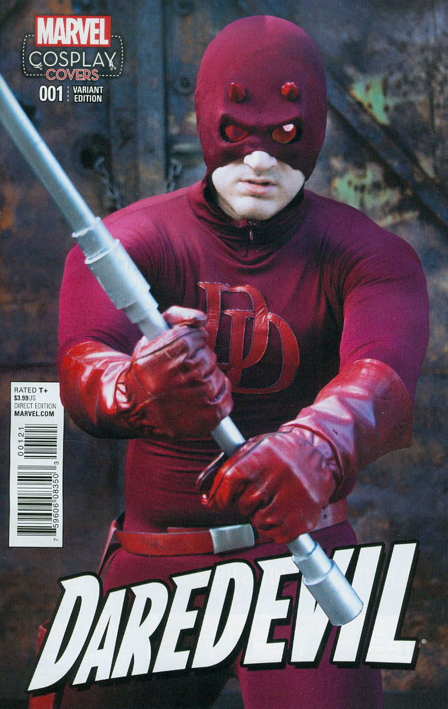 Daredevil Vol 5 #1 Cover D Incentive Cosplay Variant Cover