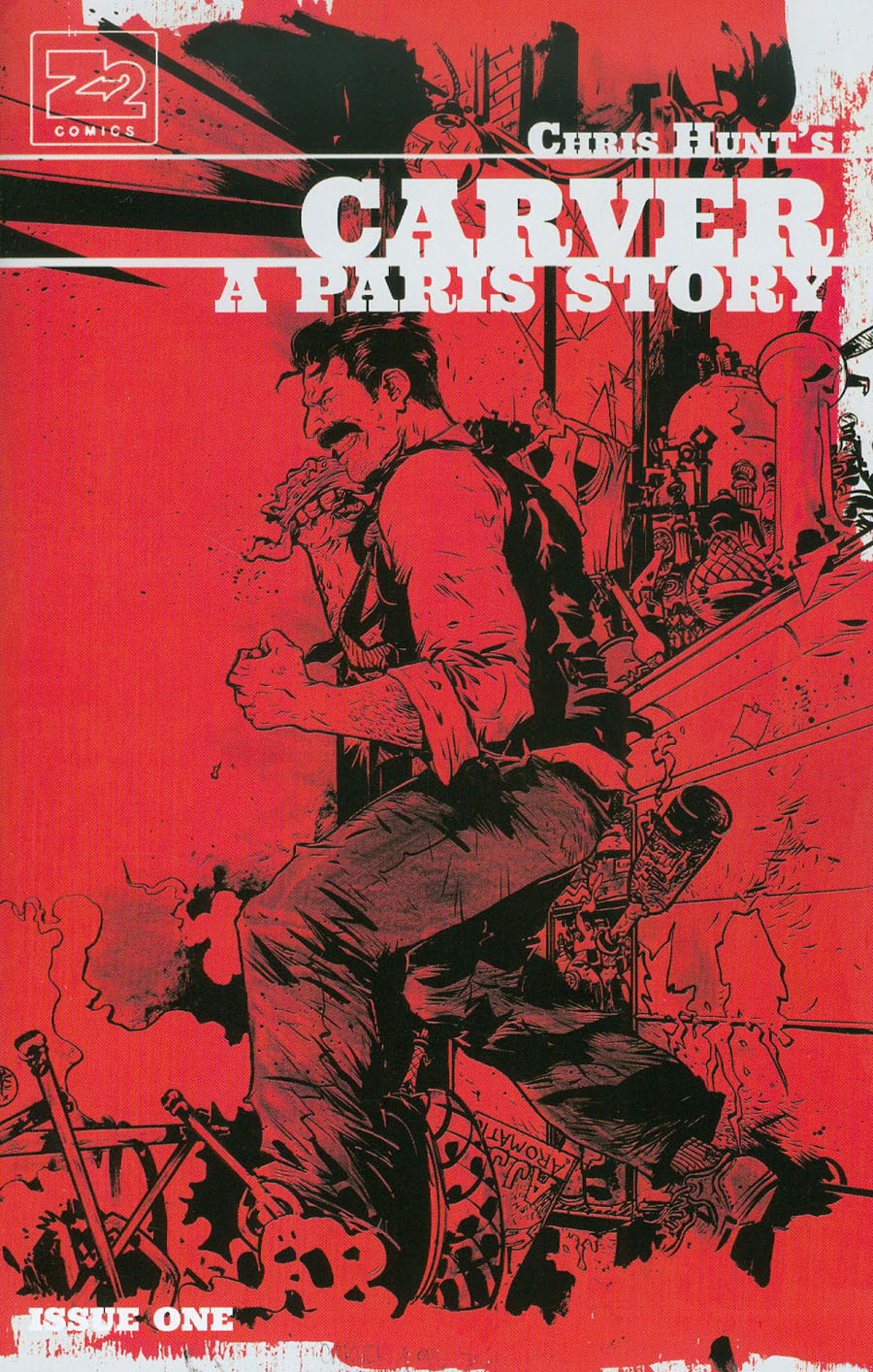Carver Paris Story #1 Cover B Incentive Paul Pope Variant Cover