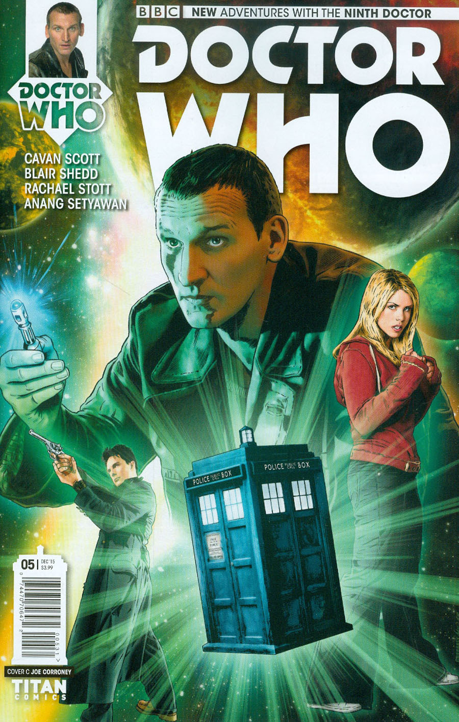Doctor Who 9th Doctor #5 Cover C Incentive Joe Corroney Variant Cover