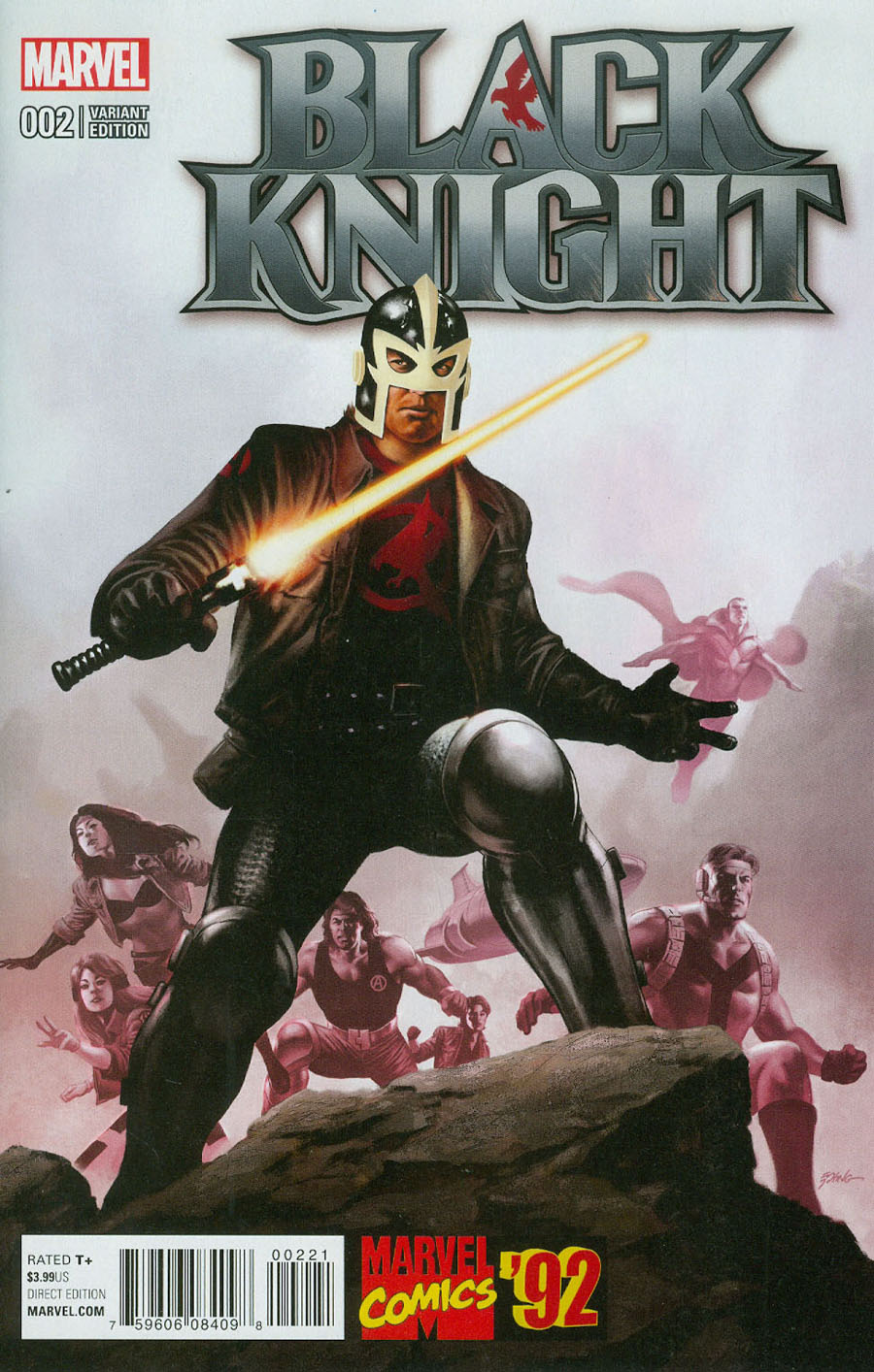 Black Knight Vol 4 #2 Cover B Incentive Steve Epting Marvel 92 Variant Cover
