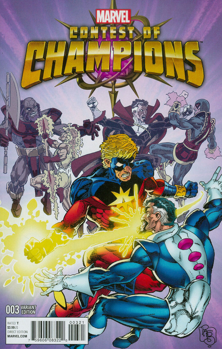 Contest Of Champions Vol 3 #3 Cover D Incentive Classic Variant Cover