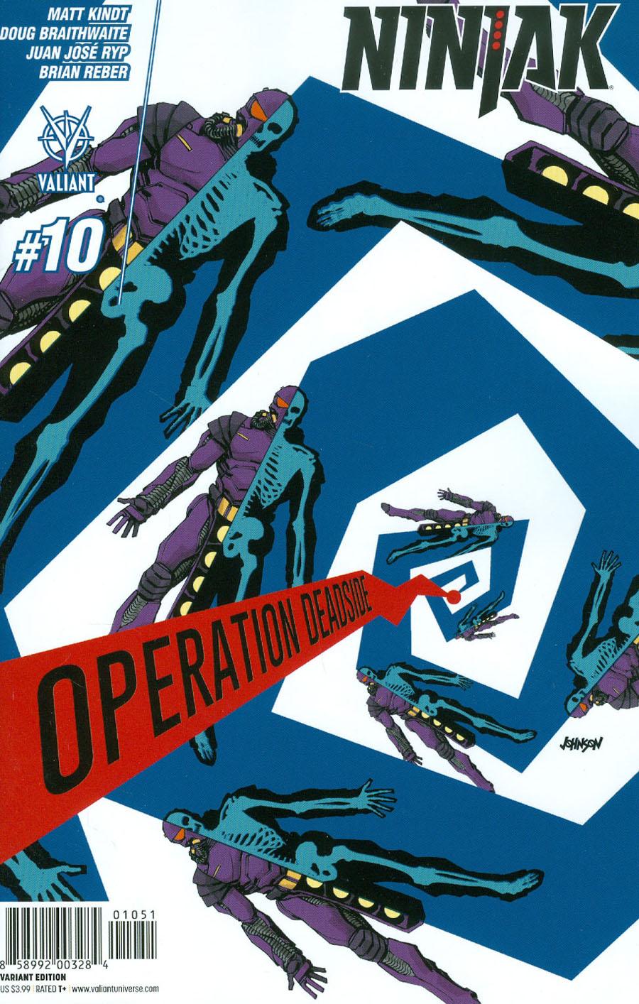 Ninjak Vol 3 #10 Cover E Incentive Dave Johnson Variant Cover