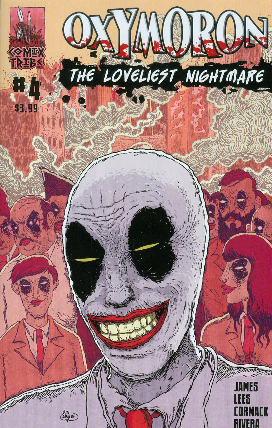 Oxymoron Loveliest Nightmare #4 Cover B Iain Laurie