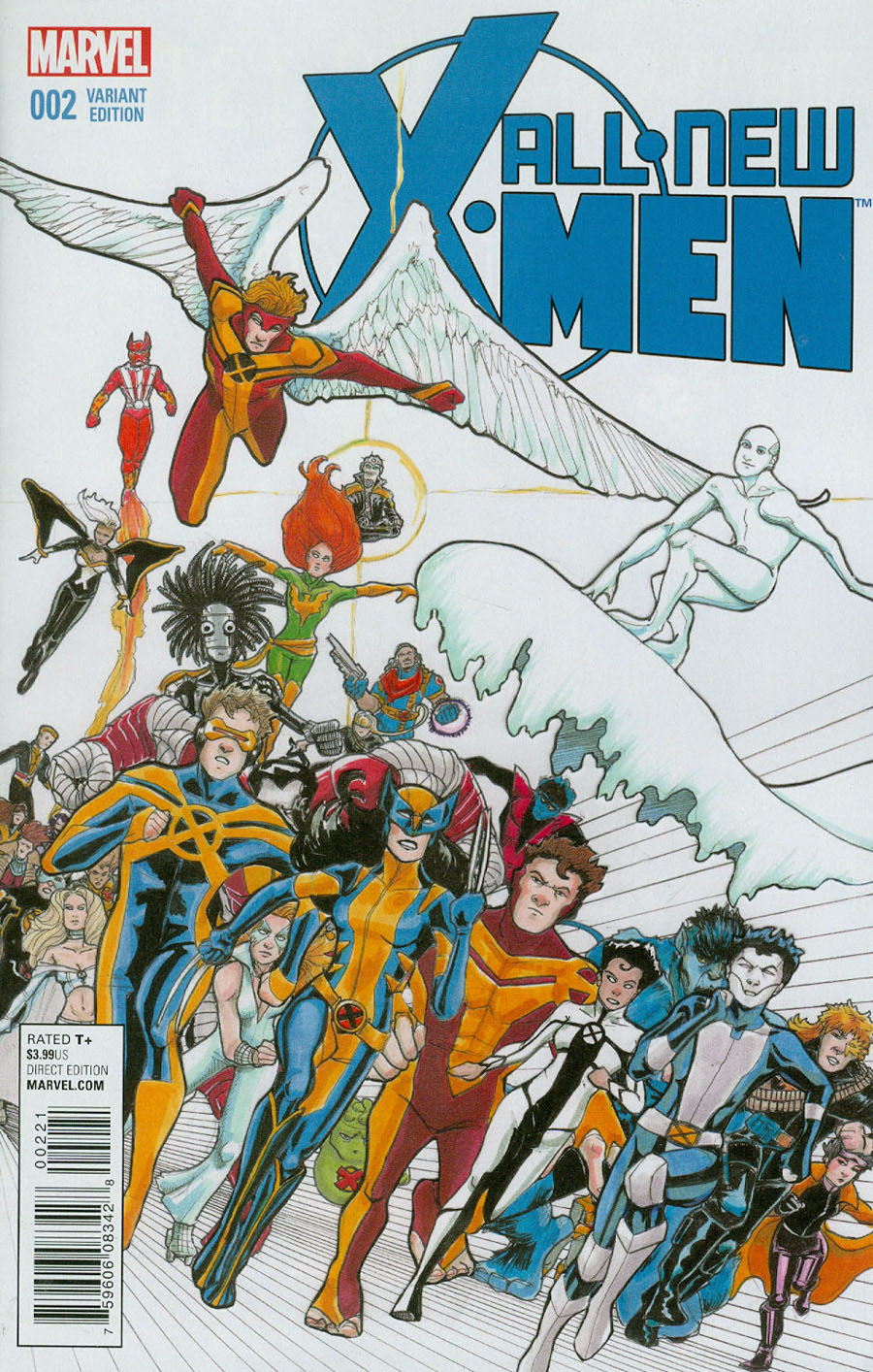 All-New X-Men Vol 2 #2 Cover B Incentive Janet Lee Variant Cover