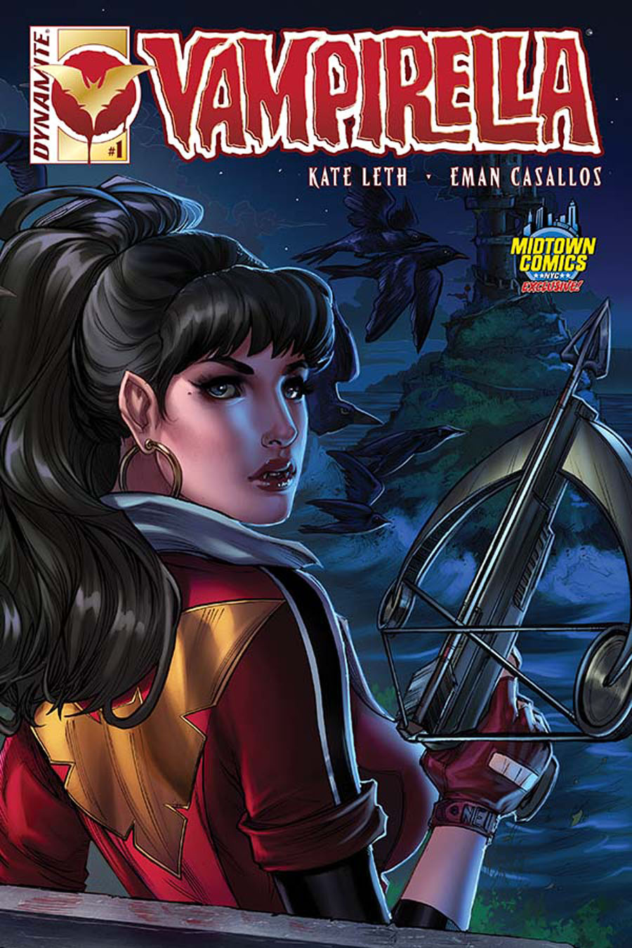 Vampirella Vol 6 #1 Cover B Midtown Exclusive Nei Ruffino Connecting Color Variant Cover